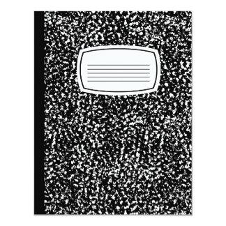 composition book card