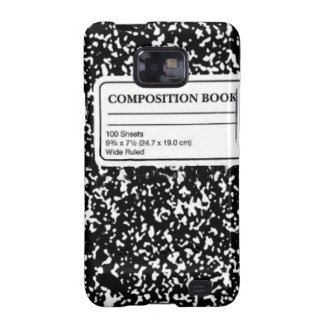 Composition Book Galaxy SII Case
