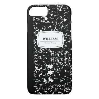 Composition Book, Customized iPhone 7 Case