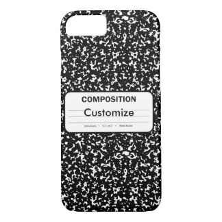 Composition Book iPhone 8/7 Case