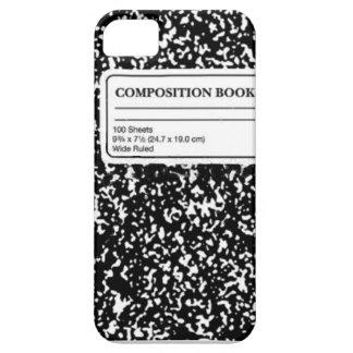 Composition Book iPhone SE/5/5s Case