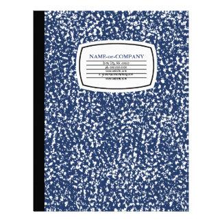 composition book letterhead