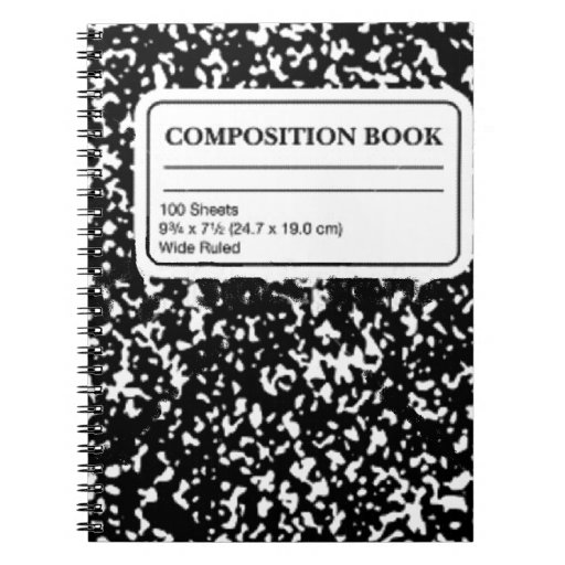 Composition Book Notebook