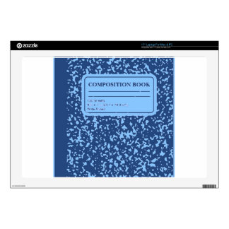 Composition Book Skin For Laptop