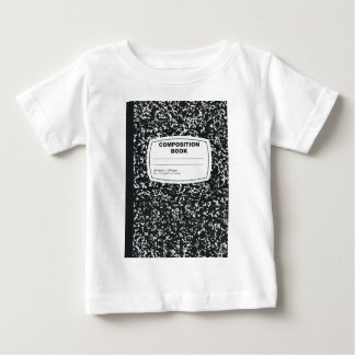 Composition Book Student Teacher Baby T-Shirt