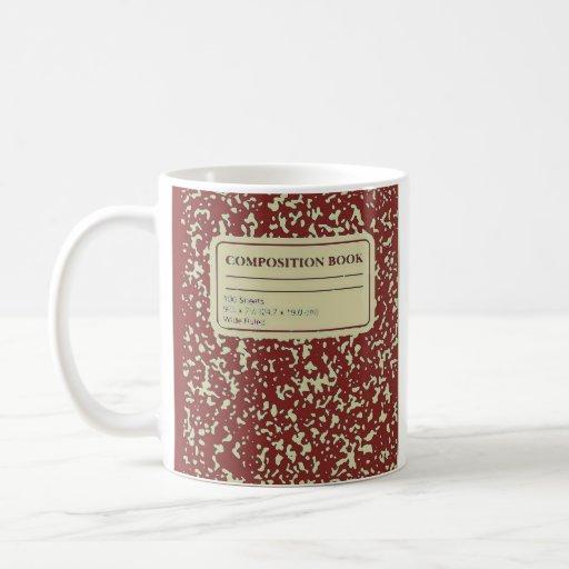 Composition Book/Student-Teacher Coffee Mug