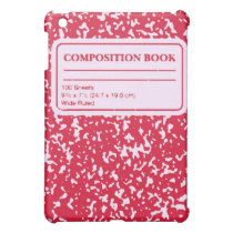 Composition Book/Student-Teacher Cover For The iPad Mini