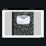 """Composition Book Student Teacher Decals For Laptops<br><div class=""""desc"""">Composition Book Student Teacher</div>"""