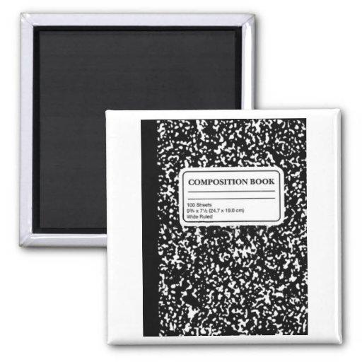 Composition Book/Student-Teacher Fridge Magnets