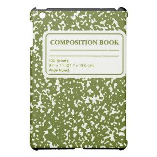 Composition Book/Student-Teacher iPad Mini Covers
