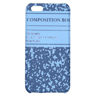 Composition Book/Student-Teacher iPhone 5C Cover