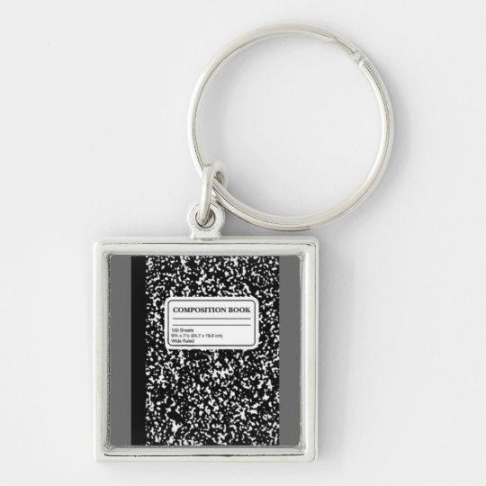 Composition Book/Student-Teacher Keychain