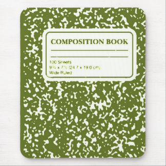 Composition Book/Student-Teacher Mouse Pad
