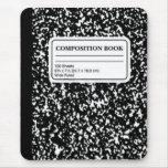 Composition Book/Student-Teacher Mousepads