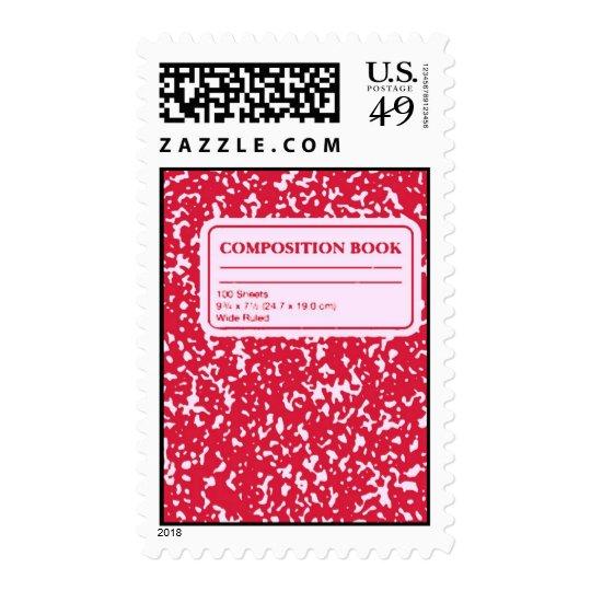Composition Book/Student-Teacher Postage