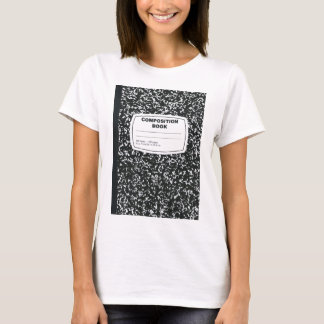 Composition Book Student Teacher T-Shirt