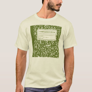 Composition Book/Student-Teacher T-Shirt