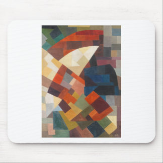 Composition by Otto Freundlich Mouse Pad