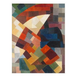 Composition by Otto Freundlich Postcard
