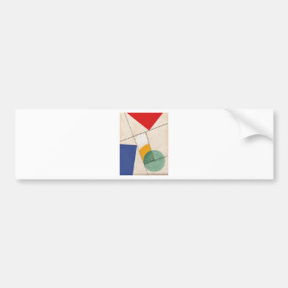 Composition by Sophie Taeuber-Arp Bumper Sticker