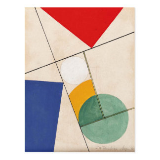 Composition by Sophie Taeuber-Arp Postcard