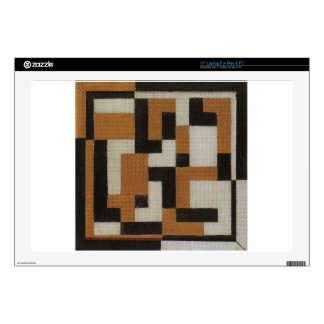 """Composition by Theo van Doesburg 17"""" Laptop Skin"""
