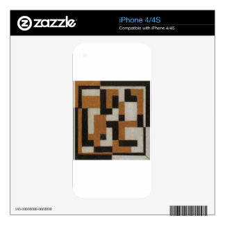 Composition by Theo van Doesburg Skin For iPhone 4S