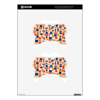 Composition by Theo van Doesburg Xbox 360 Controller Skin