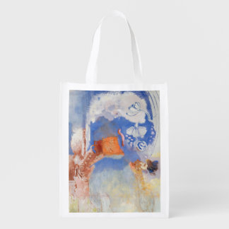 Composition, c.1900 (oil on canvas) grocery bag
