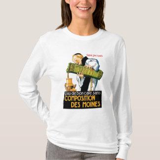 Composition Des Moines Vintage Drink Ad Art T-Shirt