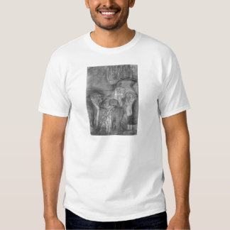 Composition draft of the law faculty image - Klimt Tees