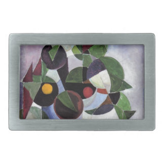 Composition I (Still life) by Theo van Doesburg Rectangular Belt Buckle