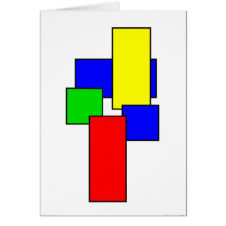 Composition II Greeting Card