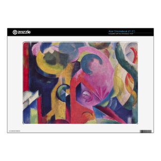 Composition III by Franz Marc Decal For Acer Chromebook