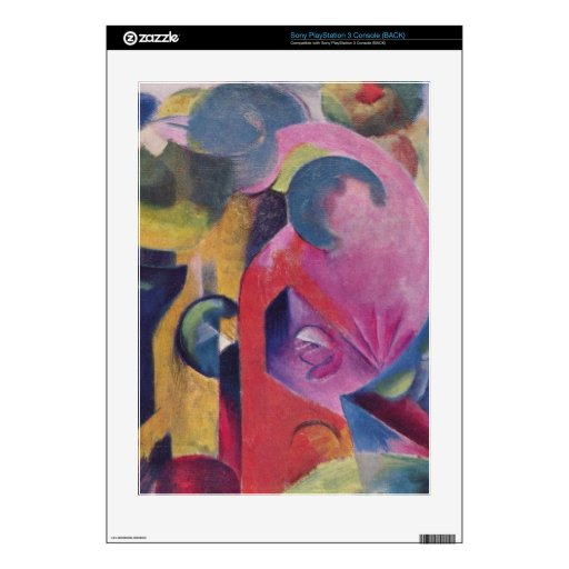Composition III by Franz Marc PS3 Decal