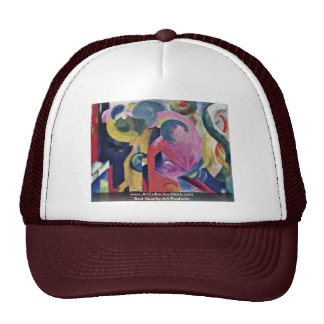 Composition Iii By Marc Franz Trucker Hat