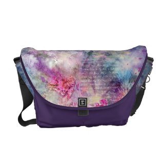 Composition in Pastel Courier Bag