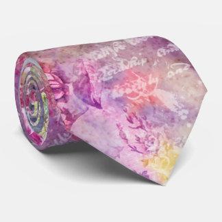 Composition in Pastel Tie