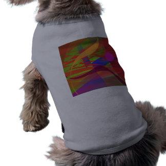 Composition Kandinsky Oriental Emulation Doggie Tee Shirt