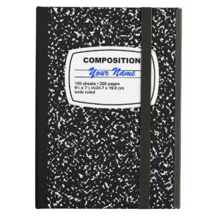free shipping deb42 e5825 Composition Notebook Customizable iPad Air Case