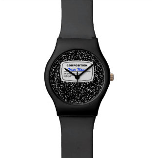Composition Notebook Customizable Watch