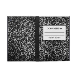 Composition Notebook Design Cover For iPad Mini