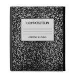 Composition Notebook Design iPad Case