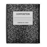 Composition Notebook Design iPad Folio Cover