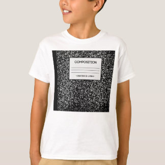 Composition Notebook Design T-Shirt
