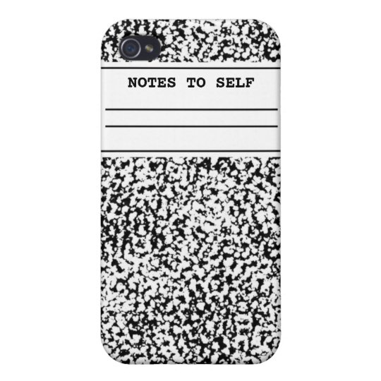Composition Notebook  iPhone 4/4S Cover