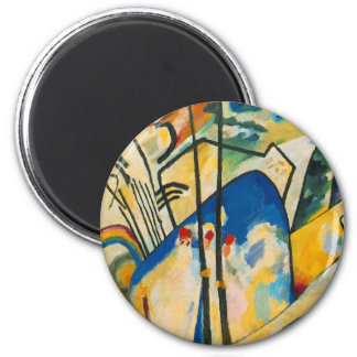 Composition Number Four 2 Inch Round Magnet