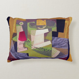 Composition on a Table, 1916 Decorative Pillow