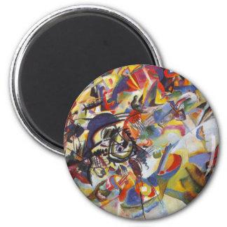 Composition VII 2 Inch Round Magnet