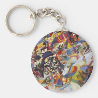 Composition VII Keychain